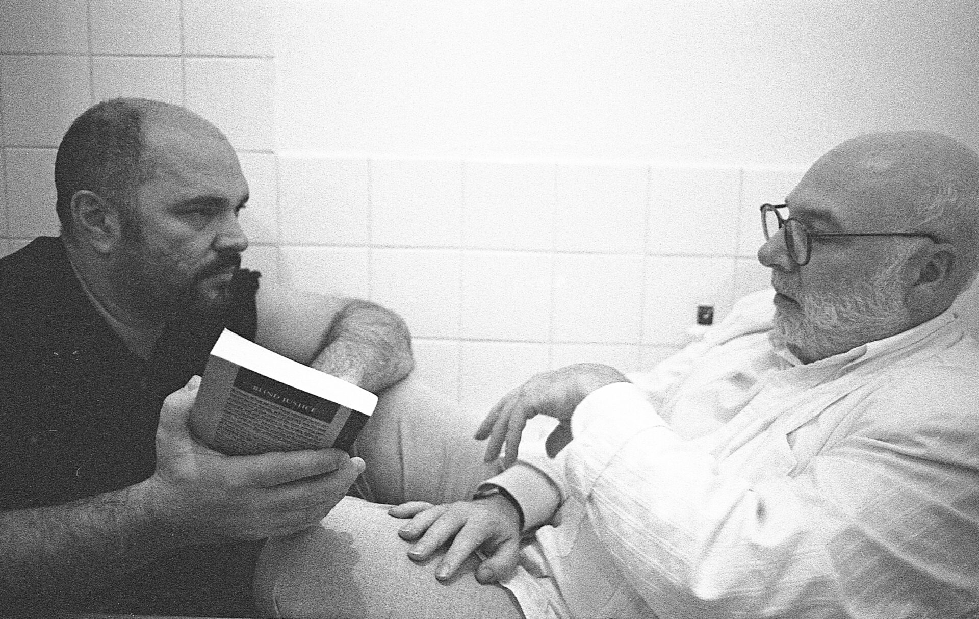 Anthony Minghella with Peter Flannery