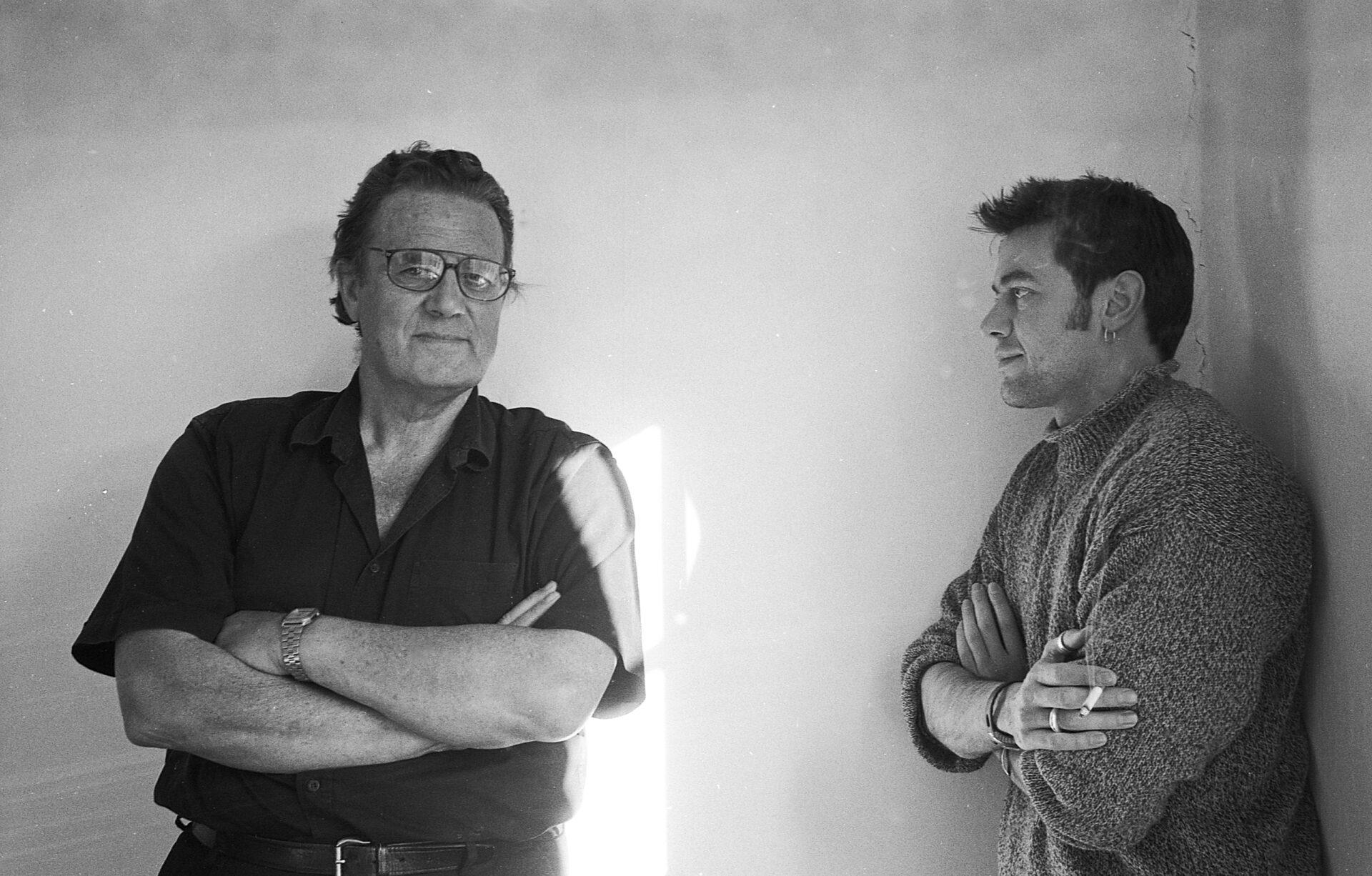 David Pownall with Peter Straughan